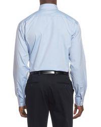 Nordstrom - Blue Smartcare(tm) Classic Fit Pinpoint Dress Shirt for Men - Lyst