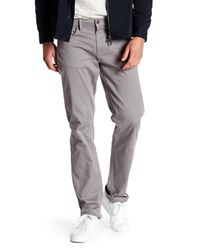 Joe's Jeans - Gray Brixton Twill Pants for Men - Lyst