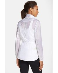 Brooks - White Water Resistant Ripstop Jacket - Lyst