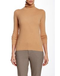 In Cashmere - Natural Turtleneck Cashmere Sweater - Lyst
