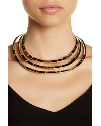 House of Harlow 1960 - Black Nalli Statement Necklace - Lyst