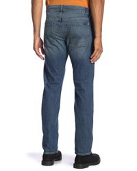 7 For All Mankind - Blue Slimmy Light Wash Jeans for Men - Lyst