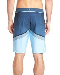 O'neill Sportswear - Blue Hyperfreak Stretch Board Shorts for Men - Lyst