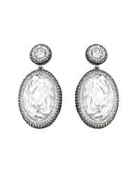 Swarovski | Metallic Vita Earrings | Lyst