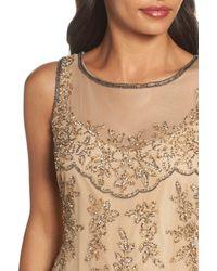 Pisarro Nights - Natural Embellished Dress - Lyst