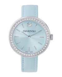 Swarovski - Blue Women's Daytime Swiss Quartz Watch - Lyst