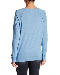 Alternative Apparel - Blue Locker Room Pullover - Lyst