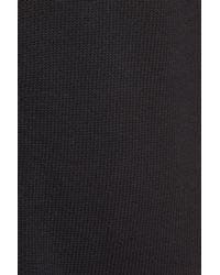Caslon - Black (r) Button Back Tunic Sweater (regular & Petite) - Lyst