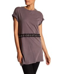 Dreamers By Debut - Multicolor Embellished Tee - Lyst