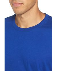 Daniel Buchler - Blue Peruvian Pima Cotton T-shirt for Men - Lyst