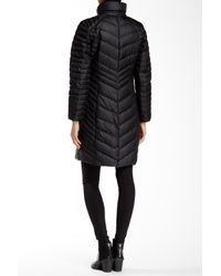 Andrew Marc - Black Kendell Genuine Coyote Fur Trimmed Quilted Jacket - Lyst