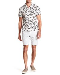 Original Penguin - White Dobby Oxford Shorts for Men - Lyst