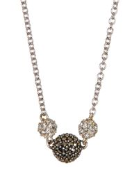 Judith Jack | Metallic Sterling Silver Mini Motives Reversible Station Necklace | Lyst