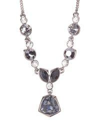 Givenchy | Multicolor Crystal Pendant Y-necklace | Lyst