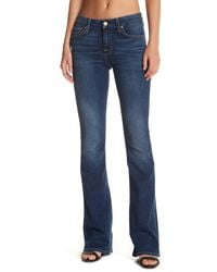 7 For All Mankind | Blue A Pocket Flare Jean | Lyst