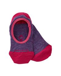 Smartwool - Purple Sadie Swirl No Show Socks - Lyst