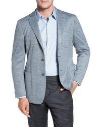 Bugatchi - Blue Jersey Blazer for Men - Lyst