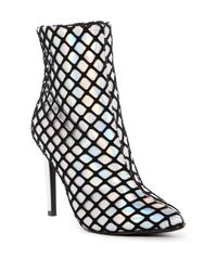 Cape Robbin - Black Gigi Fishnet Stiletto Boot - Lyst