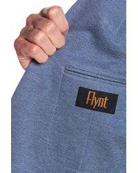 Flynt - Blue Draper Knit Sportcoat for Men - Lyst