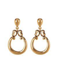Carolee - Metallic Doorknocker Dangle Earrings - Lyst