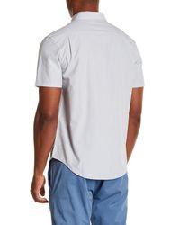 Original Penguin - White Jaspe Woven Slim Fit Shirt for Men - Lyst