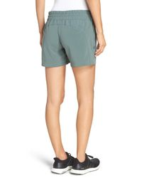 Zella - Green Switchback Shorts - Lyst