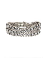 Loren Hope - Metallic Glenn Crystal Wrap Bracelet - Lyst
