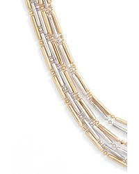 Argento Vivo - Metallic Two-tone Multistrand Necklace - Lyst