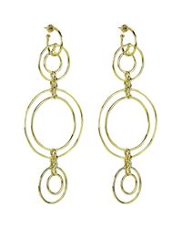 Noir Jewelry | Metallic Truss Earrings | Lyst