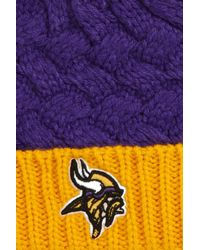 47 Brand - Purple Matterhorn Minnesota Vikings Pom Beanie - Lyst