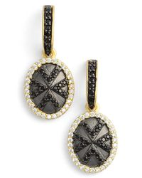 Freida Rothman - Metallic Visionary Geometric Drop Earrings - Lyst