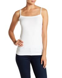 Wolford White Hawaii Square Neck Tank