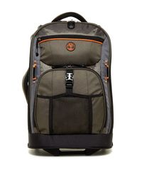 """Timberland - Black Danvers River 21"""" Rolling Upright Suitcase for Men - Lyst"""