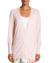 Tommy Bahama - Pink Pickford Long Sleeve Cardigan - Lyst