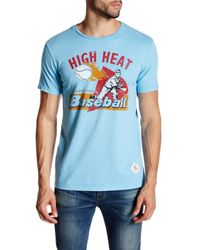 7th Inning Stretch | Blue High Heat Tee for Men | Lyst