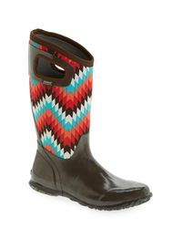 Bogs - Multicolor 'north Hampton' Graphic Print Waterproof Boot - Lyst
