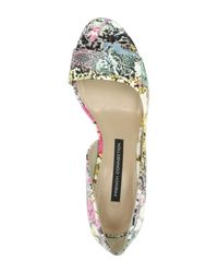 French Connection - Multicolor Lieve Floral Sandal - Lyst