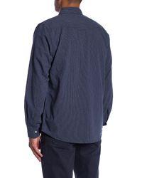 Joe Fresh - Blue Denim Western Standard Fit Shirt for Men - Lyst