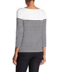 Soft Joie - Multicolor Adlai 3/4 Length Sleeve Sweater - Lyst