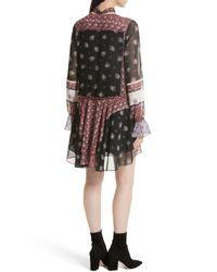 Rebecca Minkoff - Multicolor Fiona Print Shift Dress - Lyst