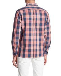 Ben Sherman - Multicolor Buffalo Check Long Sleeve Regular Fit Shirt for Men - Lyst
