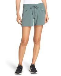 Zella | Green Switchback Shorts | Lyst
