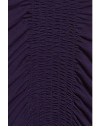 Midnight By Carole Hochman - Purple Nightgown - Lyst