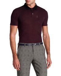 Ben Sherman - Purple Polished Polo Shirt for Men - Lyst