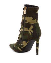 Cape Robbin - Multicolor Gigi Zip Front Boot - Lyst