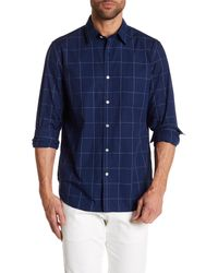 Lucky Brand - Blue Pressed Black Label Classic Fit Shirt for Men - Lyst