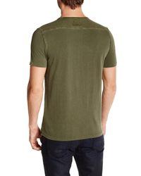 Lucky Brand - Green Malibu Military Henley for Men - Lyst