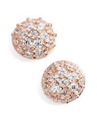 Nordstrom - Metallic Pav? Stud Earrings - Lyst