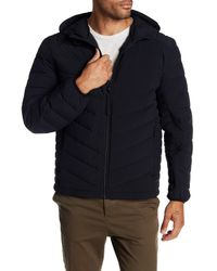 Andrew Marc - Black Delavan Lightweight Quilted Winter Coat for Men - Lyst
