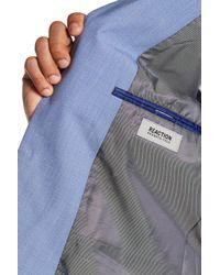 Kenneth Cole Reaction - Blue 2-button Notch Lapel Sportcoat for Men - Lyst